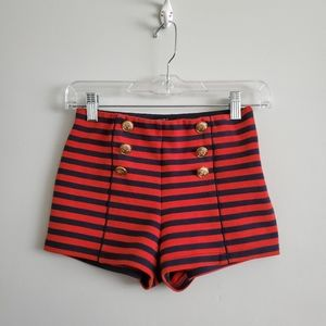 Forever 21 | High Waisted Sailor Shorts
